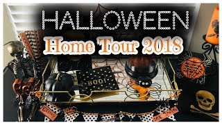 Halloween Home Tour 2018 | Halloween Monster Tree | DIY | Halloween Decor