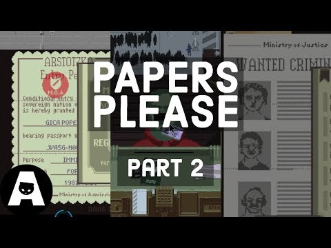 LIRIK playing Papers, Please - Part 2