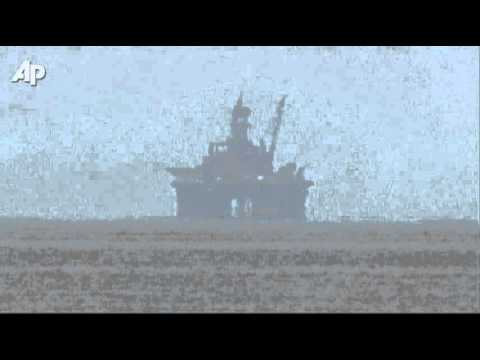 Oil Rig Ready to Drill Off Cuba
