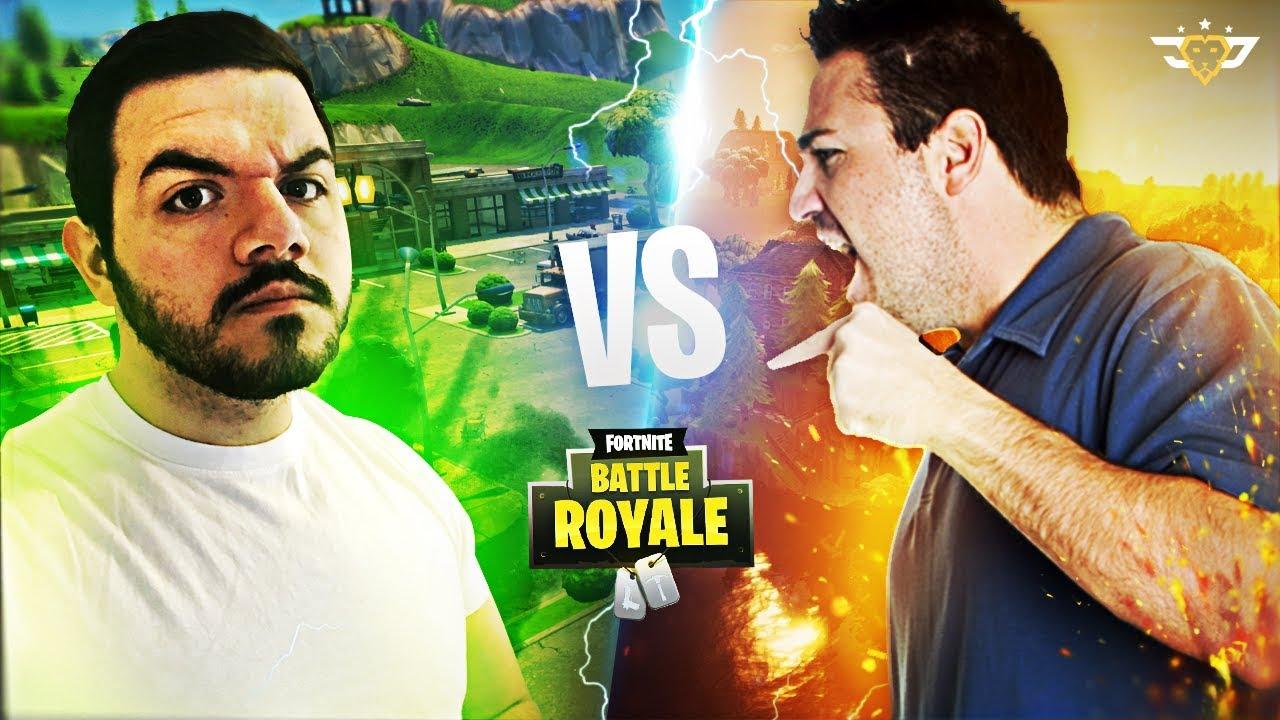 Me Vs Random Kid S Dad We Get In A Fight Fortnite Battle Royale