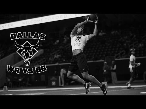 Nike Football's The Opening Dallas 2017 | WR vs DB 1 on 1's
