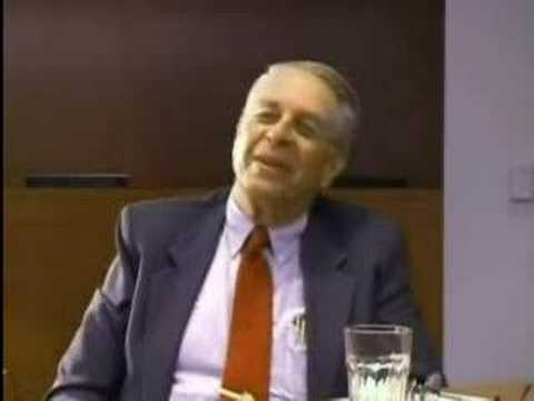 Aaron Russo talks with IRS Commissioner Sheldon Cohen