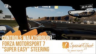 forza 7 super easy steering controls walkthrough