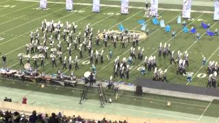 "Liberty ""Pride of the Lancers"" Marching Band 2015 State Finals performance"