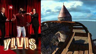 Ylvis - Charter-Svein prøver virtual reality briller