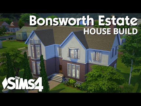 The Sims 4 House Building - Bonsworth Estate