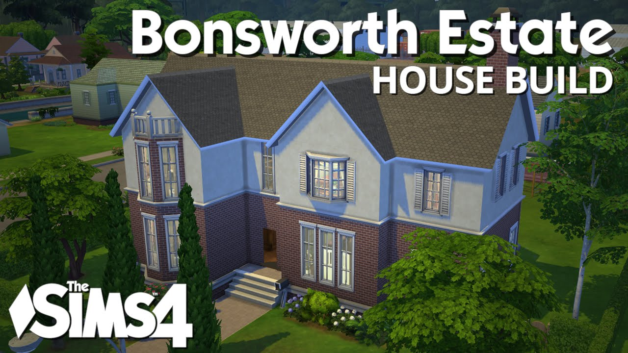 The sims 4 house building bonsworth estate youtube for Building an estate