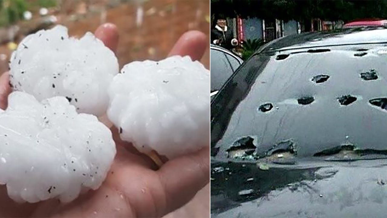 The Biggest Hailstones Compilation