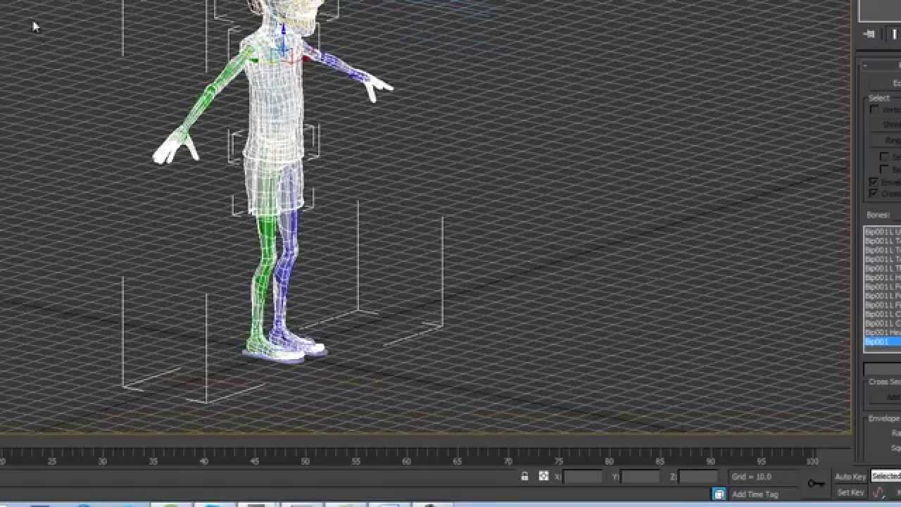 Bow rigging in 3ds max (tutorial) youtube.