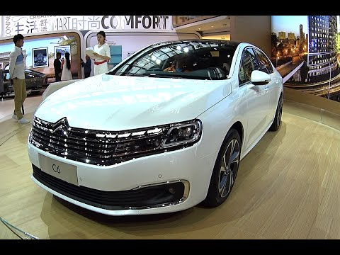 2016, 2017 Citroen C6 launched on the Beijing Auto Show