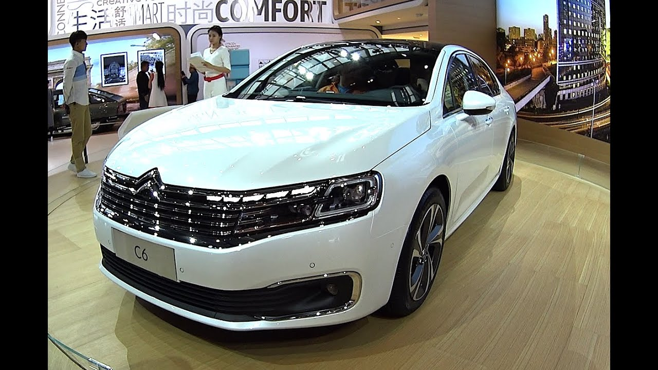 2016 2017 citroen c6 launched on the beijing auto show youtube. Black Bedroom Furniture Sets. Home Design Ideas