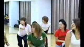 メロン記念日「シャンパンの恋」ダンスレッスン初日