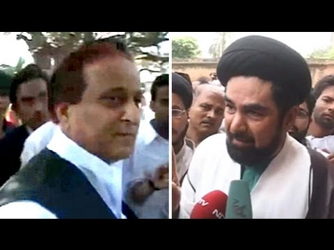 War of words between Azam Khan and Shia cleric Kalbe Jawad turning ugly