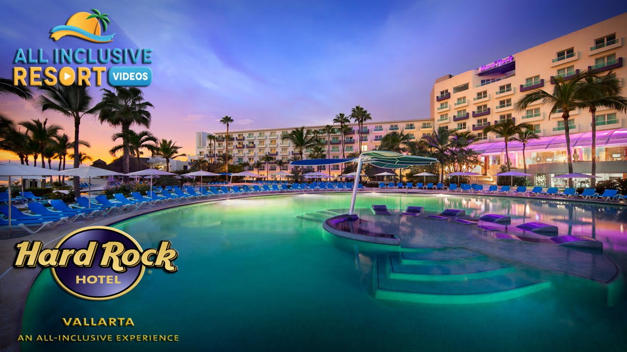 Hard Rock Hotel Vallarta Family All Inclusive Resort Youtube