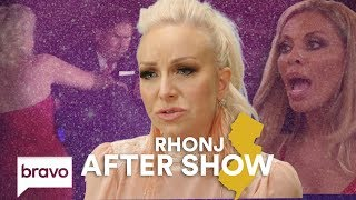 Margaret Josephs Throws Danielle Staub's Husband In The Pool | RHONJ After Show (S9 Ep15) | Bravo