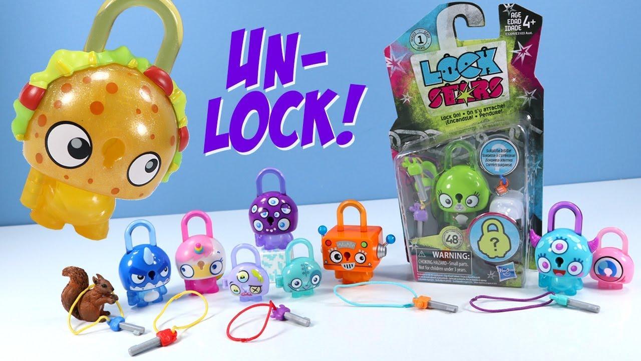 Lot of 7 Lock Stars Series 1 Surprise Inside New