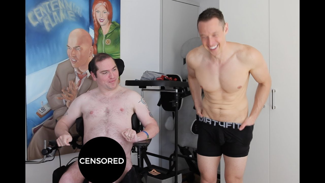 Hardcore disabled man gay sex fucking 4