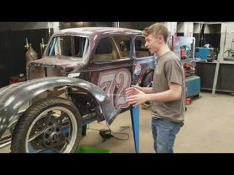 Terre Haute South 2017-18 Urban Concept Car Progress