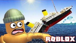 PLAYING TITANIC ON ROBLOX!!!