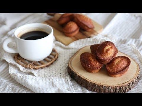 [Eng Sub] 맛있는 기본 휘낭시에 만들기 Financier recipe|자도르