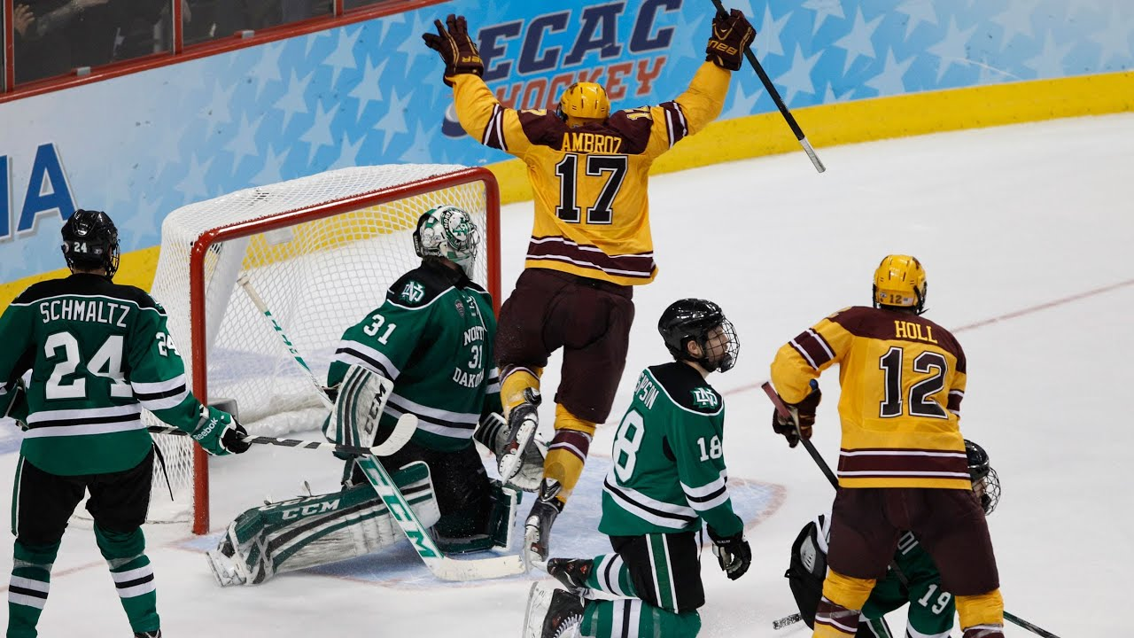 UND Welcoming The Gophers Back To Grand Forks (video)
