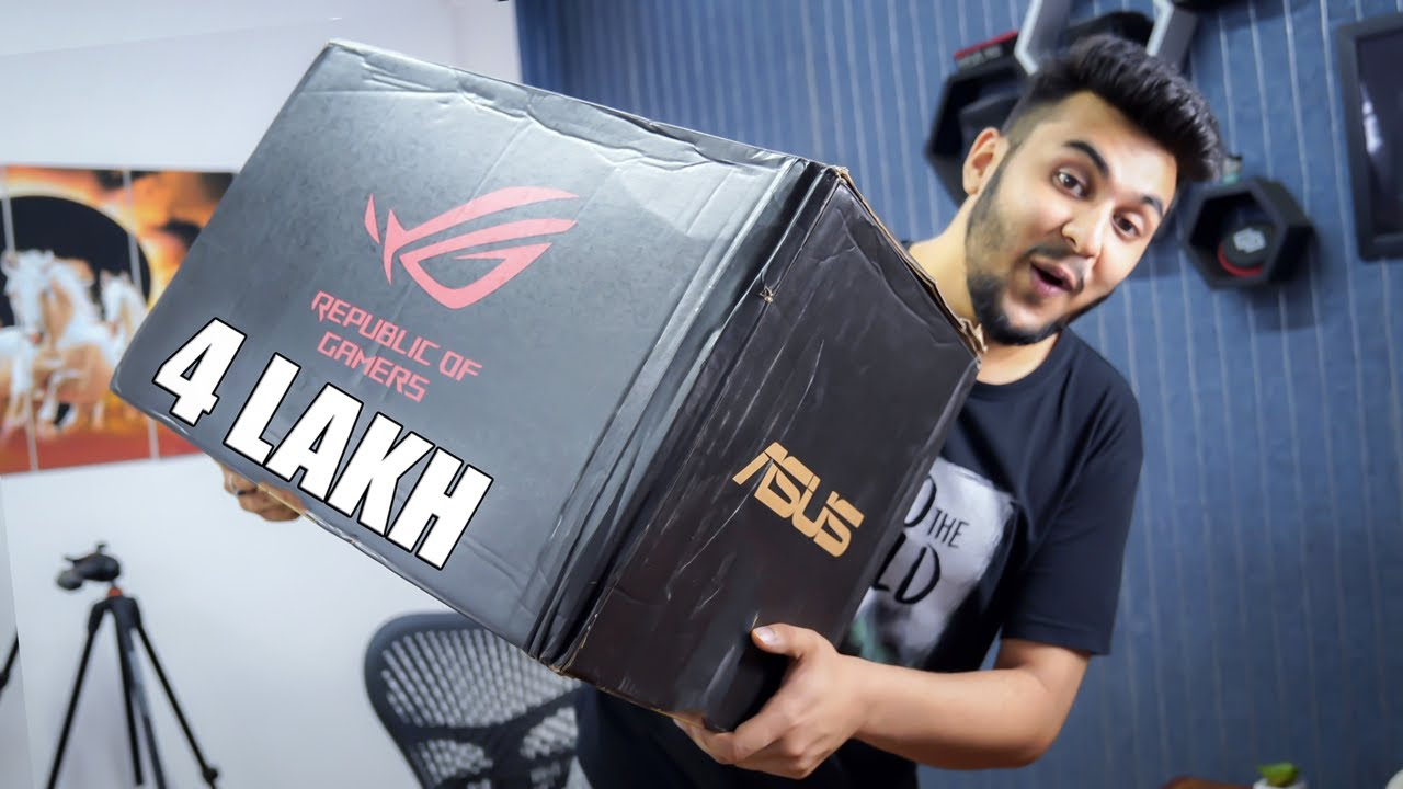 Crazy 4 Lakh Rupees Gaming Laptop with Free Accessories in Box!