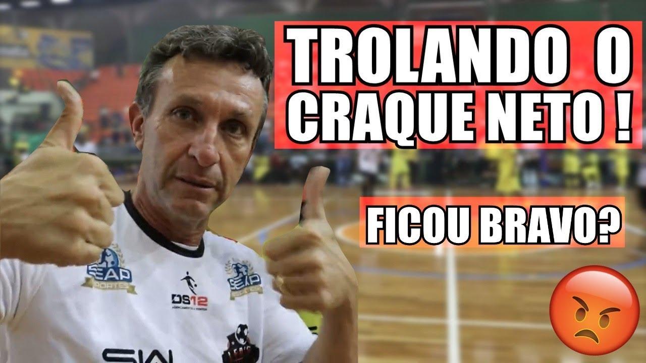 TROLLANDO O CRAQUE NETO! (GINGA X CORINTHIANS)