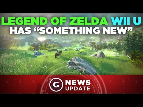 "Zelda Wii U to Offer ""Something New"" - GS News Update"