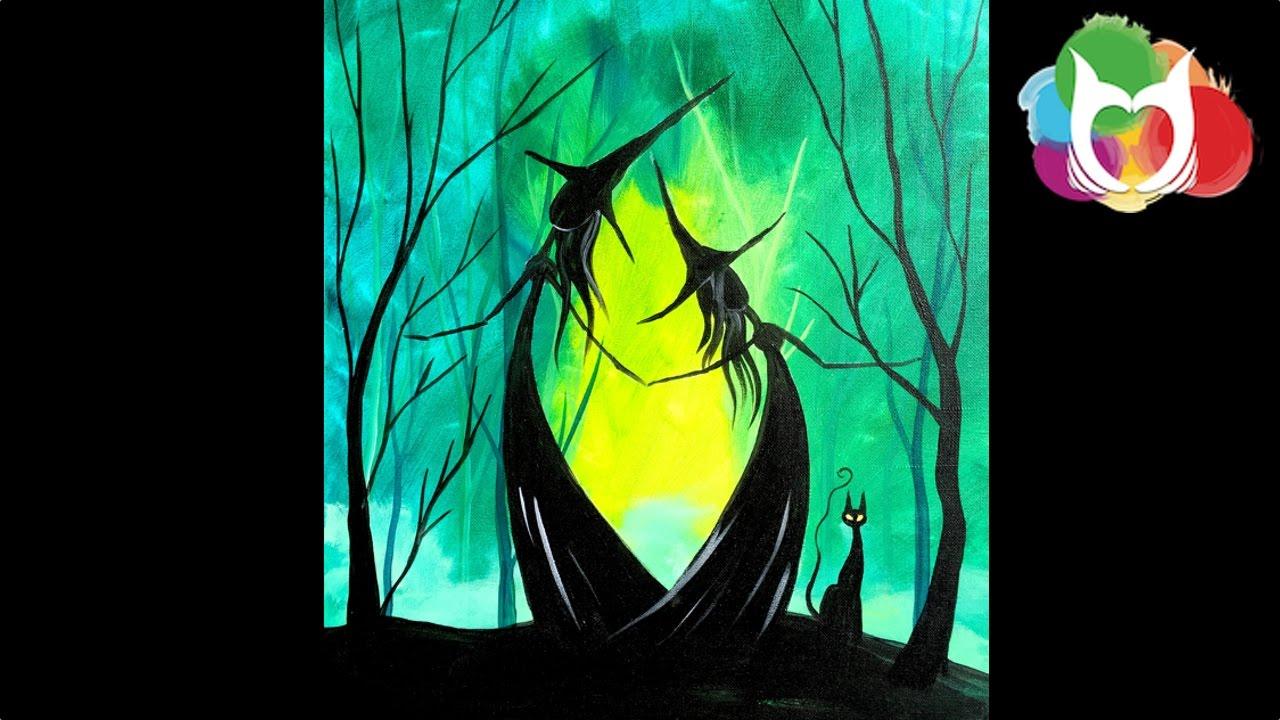 Easy Halloween Painting