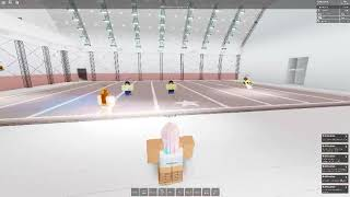 Varsity Athletes ROBLOX Stunts and Tumble Routine