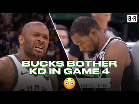 KD Frustrated With Bucks Defense And Refs In Game 4 Loss