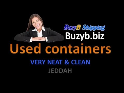 Used container Jeddah, used continers for sale in Jeddah