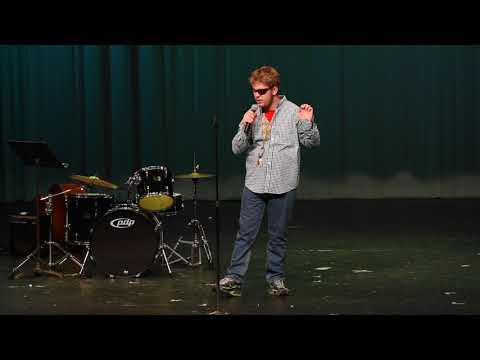 Mick Kelly performs an original song