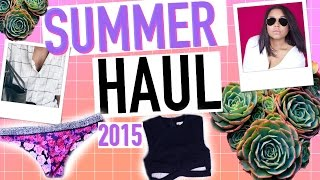 HUGE SUMMER HAUL 2015! Pacsun, Urban Outfitters,Gap