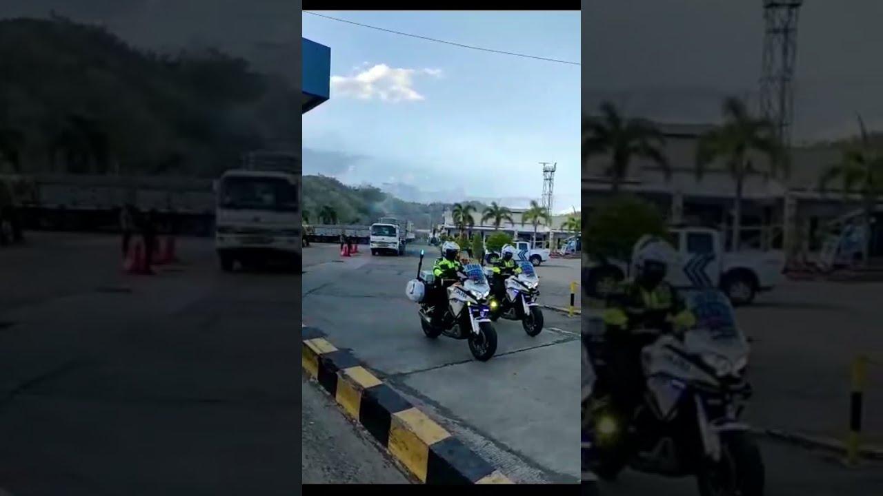 Download Konvoi Logistik Sirkuit Mandalika Keluar Pelabuhan Lembar, Lombok Barat