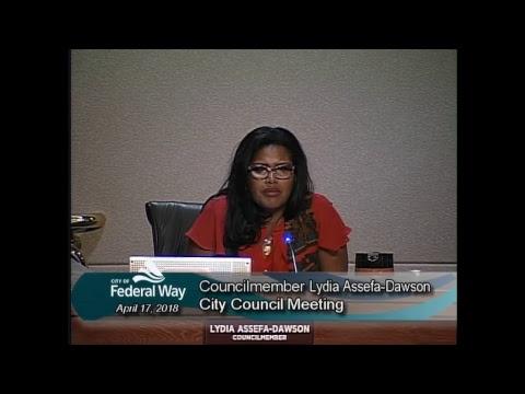 04/17/2018 Federal Way City Council - Regular Meeting