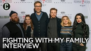 Fighting With My Family: Paige, Florence Pugh, Nick Frost, Lena Headey, Stephen Merchant Interview