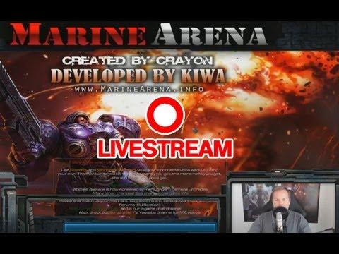 Livestream vom 10.09.13 - Aggressorkralle Part 2 - StarCraft 2 HotS Arcade