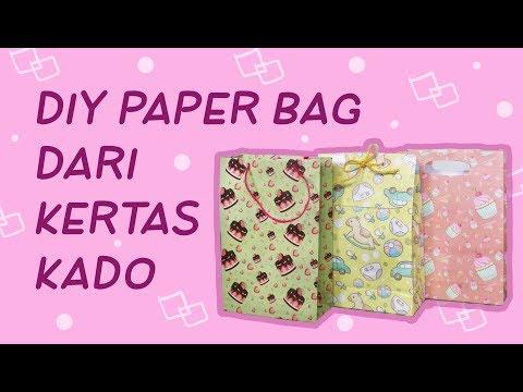 DIY Paper Bag / Tas Kertas dari Kertas Kado | DIY Eps. 41  | Asakecil