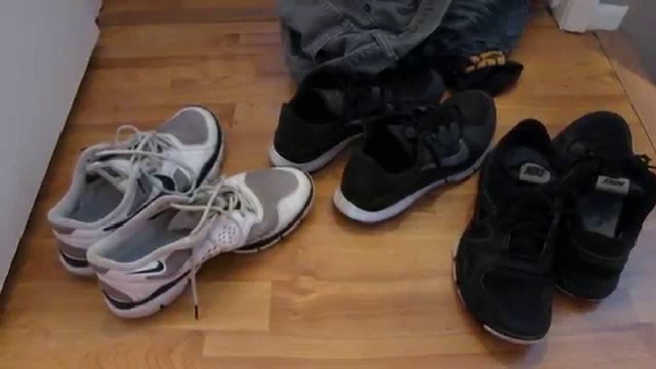 sneakers in the washing machine