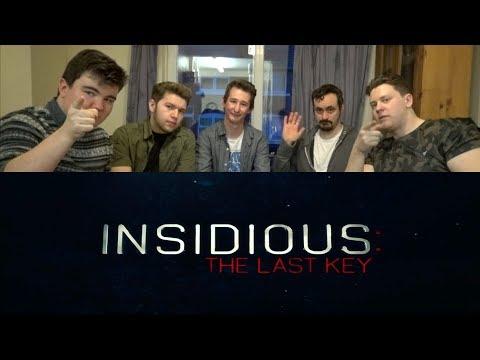 Insidious: The Last Key Movie Review w/ Jake Baxter, James Box, Jak Coates & Benedict Fitzgerald