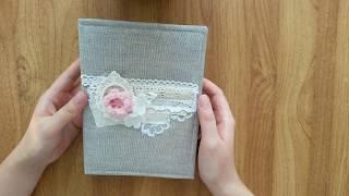 Блокноты/Фотоальбом на годовщину свадьбы. Скрапбукинг. Обзор работ