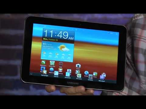 Quick Look at the Samsung Galaxy Tab 8.9 Wi-Fi