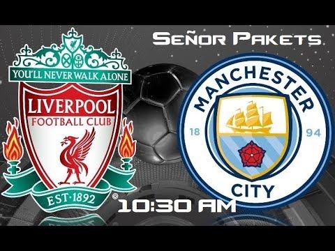 Liverpool vs Manchester City en Vivo HD