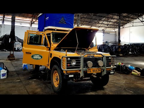 Shipping From Colombia To Guatemala. Land Rover Defender 300tdi.