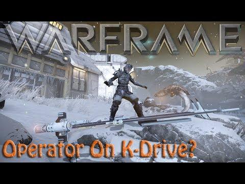 Warframe - Operator On K-Drive? thumbnail