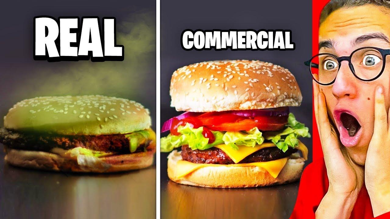 Reagieren auf INSANE COMMERCIALS VS. WAHRES LEBEN! + video