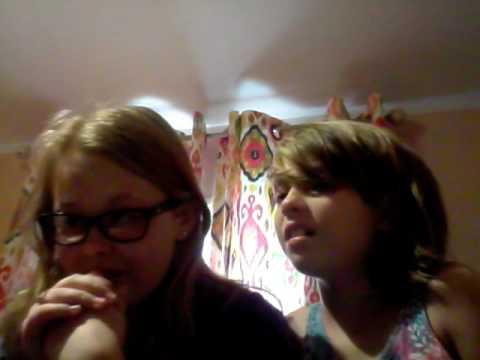 2 Girls Watching 4 Finger Painting