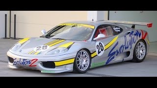 Evolution 2 Motorsport Ferrari 360 GTC (Geoffrey Finlay) - Ascari Race Resort