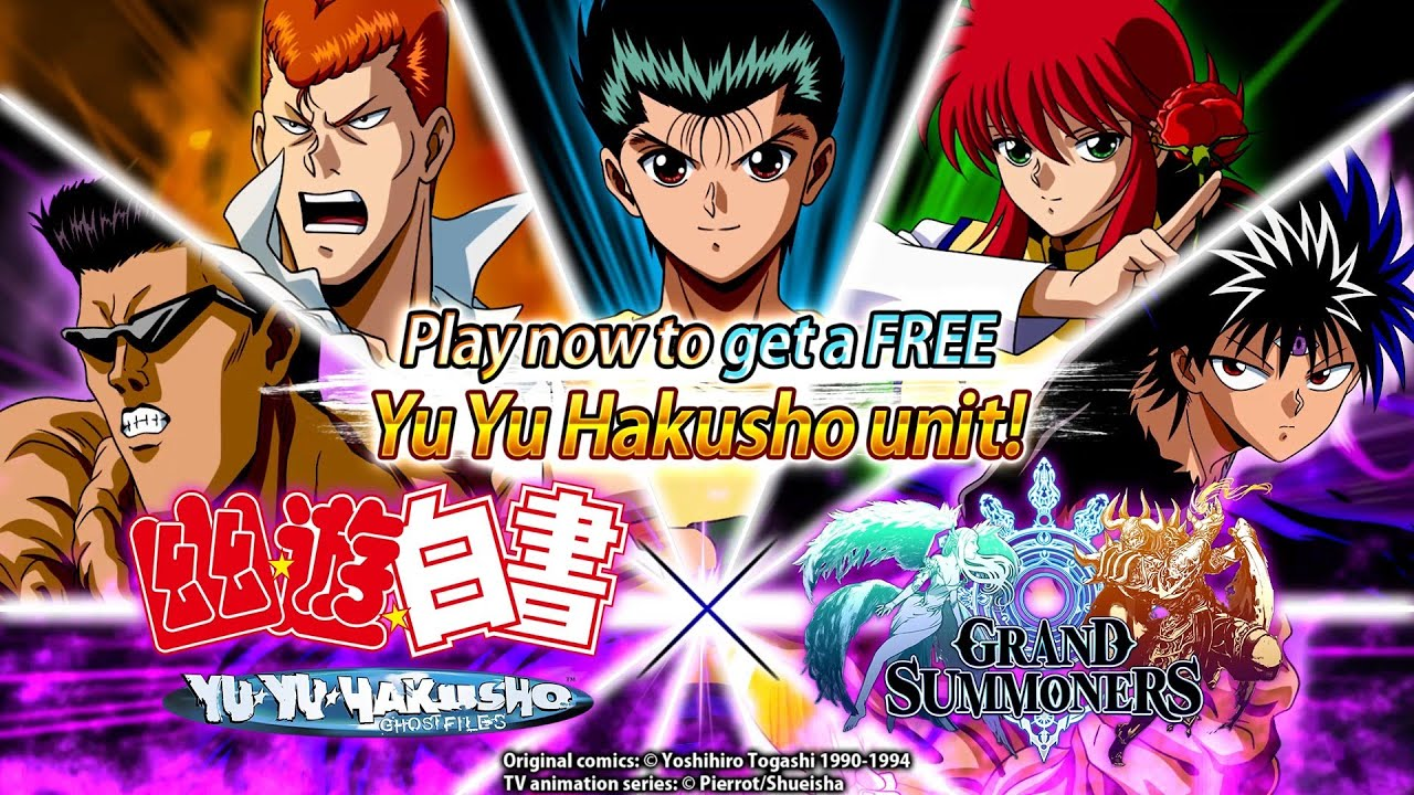 👻Yu Yu Hakusho x Grand Summoners💥